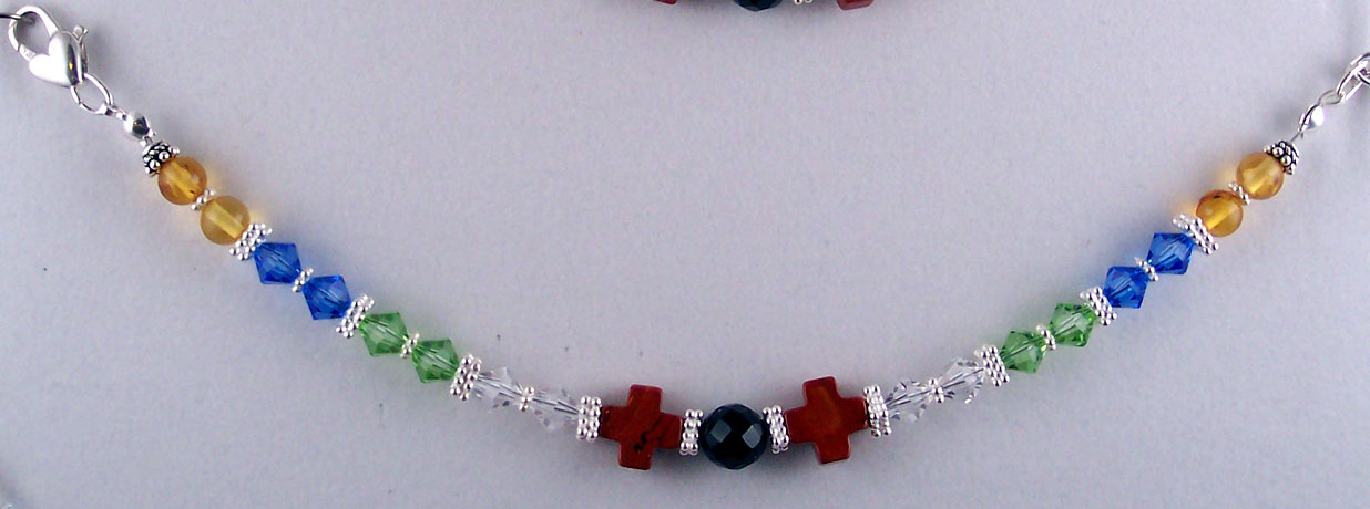 B0062 - Salvation Bracelet - 7""