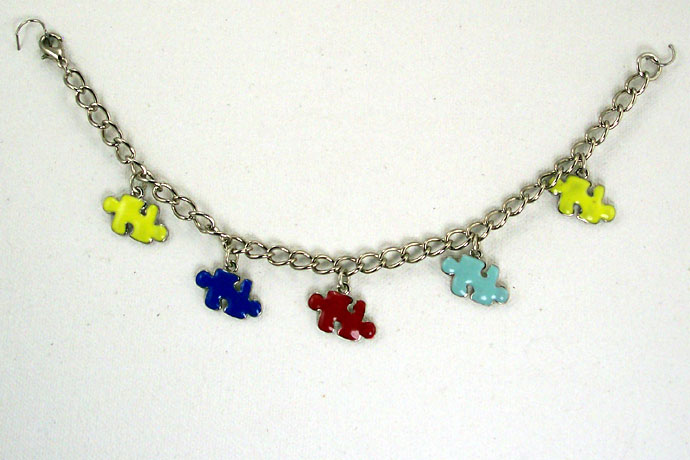 "B0260 - My Piece Fits! - 8"" 5 charms"