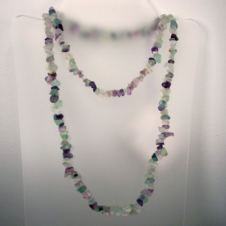 N0384 - Endless Rainbow Fluorite - 36""