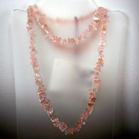 N0386 - Endless Rose Quartz - 36""