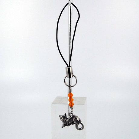 ZPSW070 - Sitting Cat - zipper pull 2""
