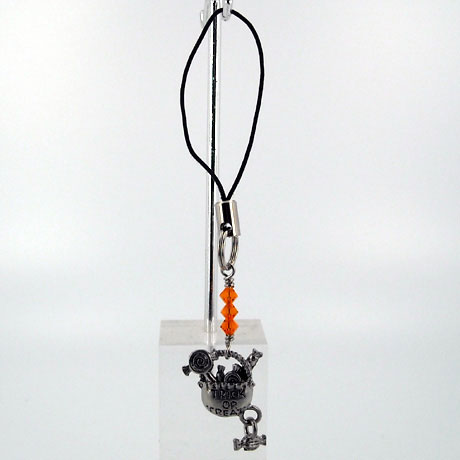 ZPSW071 - Truck or Treat Bag w/candy dangle - zipper pull 2""