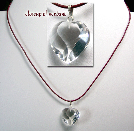 "C0049R - Clearly in Love - 18 to 20"" adjustable"